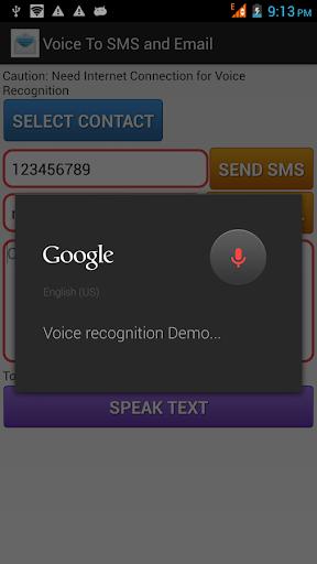 【免費通訊App】Voice To SMS and Email-APP點子
