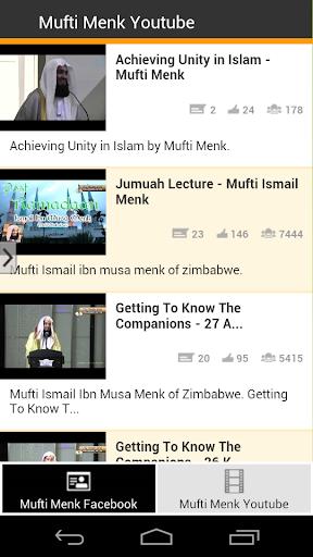 Mufti Menk Social App