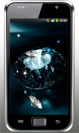 Diamonds Flash live wallpaper