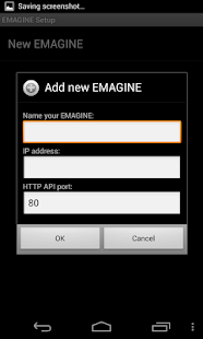 EMAGINE Remote Control- screenshot thumbnail