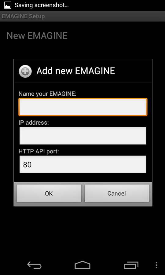 EMAGINE Remote Control- screenshot