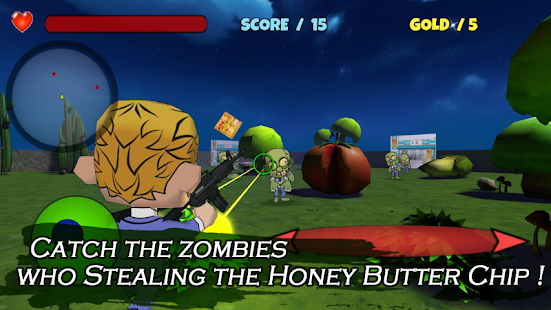 Honey Butter Chip And Zombie- screenshot thumbnail