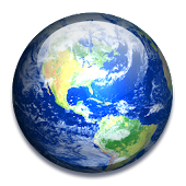 Rotating Earth 3D Wallpaper