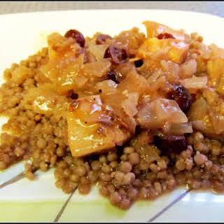 Cranberry Chicken Tagine.