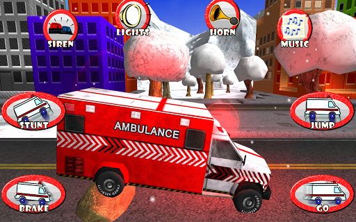 Ambulance Toddler Race Rescue