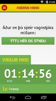 Screenshot of Strætó.is