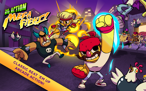 Big Action Mega Fight!  screenshots 6