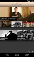 Screenshot of Veterans Matter