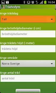 Trädvolym- screenshot thumbnail