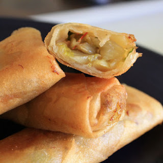 Pork and Vegetable Spring Rolls