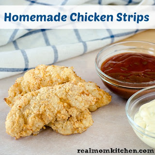 Homemade Chicken Strips.