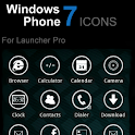 WPhone 7 LauncherPro Icon pack logo
