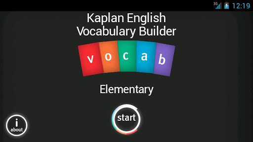 Kaplan English Vocab Builder