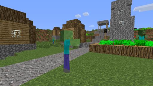 ZombieTown Minecraft Wallpaper 6.1 screenshots 1