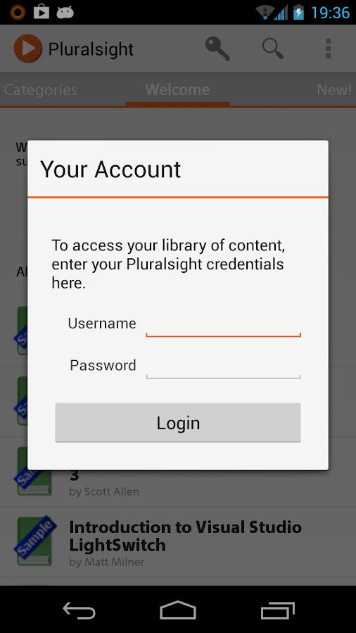 Pluralsight - screenshot