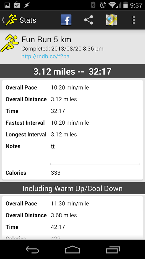 C25K Couch to 5K by RunDouble - screenshot