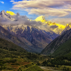 Chhitkul valley 2 by Amrita Bhattacharyya - Landscapes Mountains & Hills ( , HDR, Landscapes )