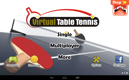 Virtual Table Tennis  screenshots 9