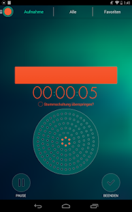 Diktaphon - Voice Recorder Screenshot