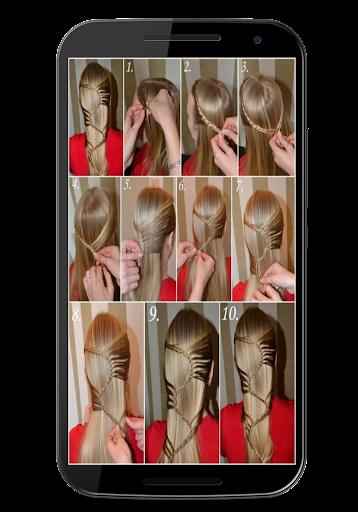 【免費生活App】تسريحات وقصات الشعر خطوة بخطوة-APP點子