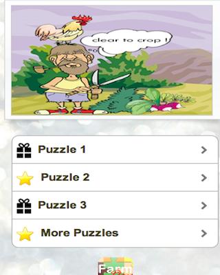 Hay Farm Day Puzzles
