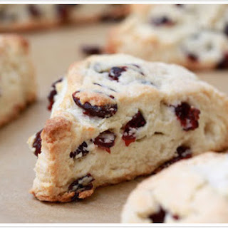 Cranberry Scones With Dried Cranberries Recipes.