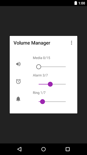 Volume Manager - 音量調整アプリ