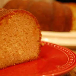 Apple Cider Cake.