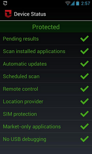 clean virus android phone