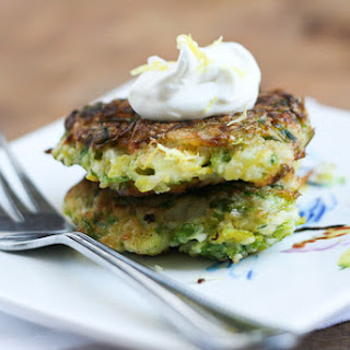 Leek & Brussels Sprouts Fritters