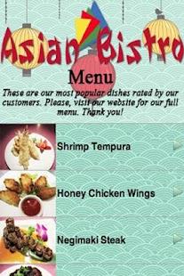 Asian Bistro Mansfield 112