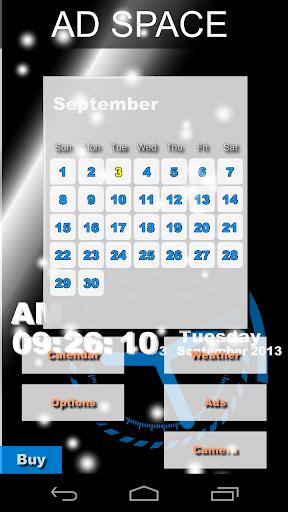 Picture Calendar Clock