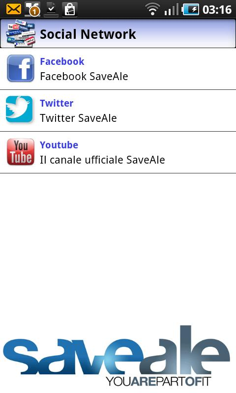 SaveAle- screenshot