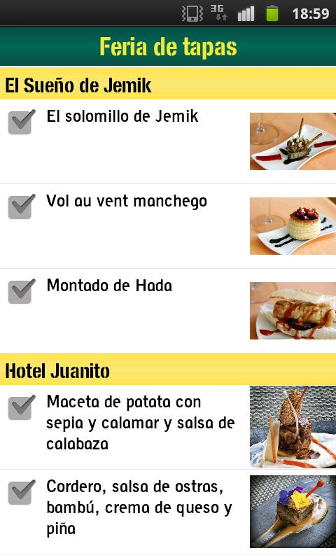 Festival de los Sentidos 2012 - screenshot