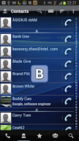 Screenshot of RocketDial Dialer&Contacts Pro