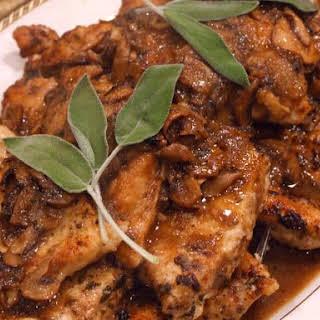 Chicken Marsala.