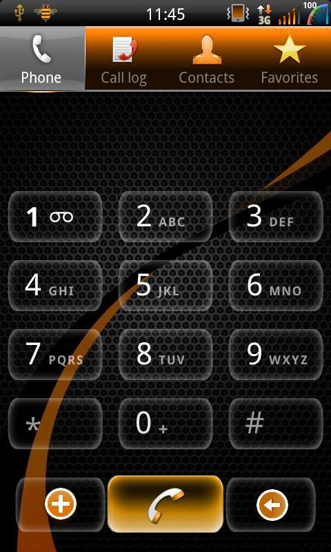 Mixer Rustic - CM7 Theme - screenshot