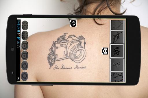 Cool Camera Tattoo