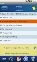 Screenshot of EasyTalk Learn Italian Free