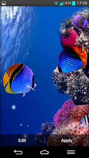 玩個人化App 水族馆 态动壁纸免費 APP試玩