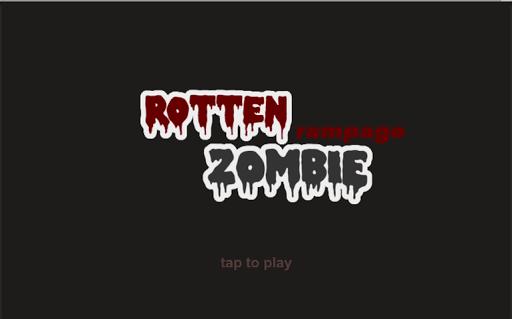 Rotten Zombie Rampage