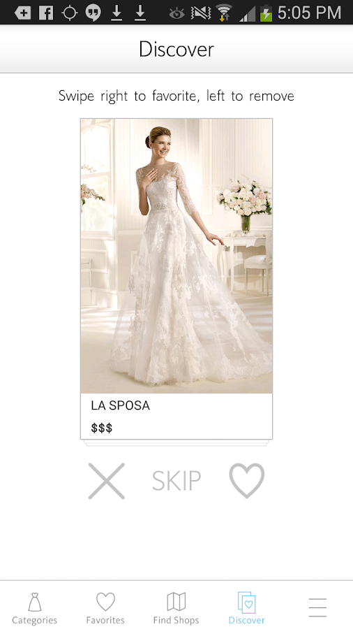 Wedding LookBook by The Knot- screenshot