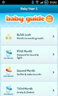 Baby Guide First Year Lite screenshot