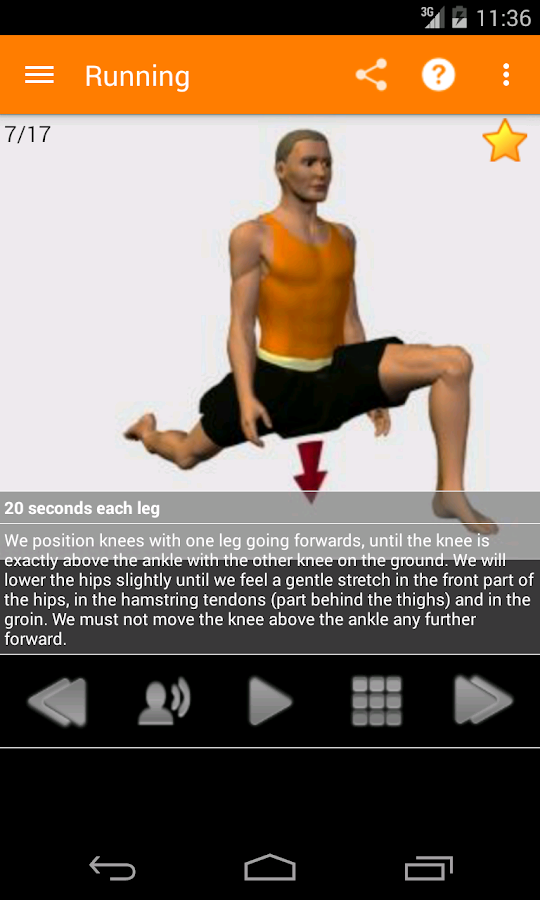 Stretching Routines - screenshot