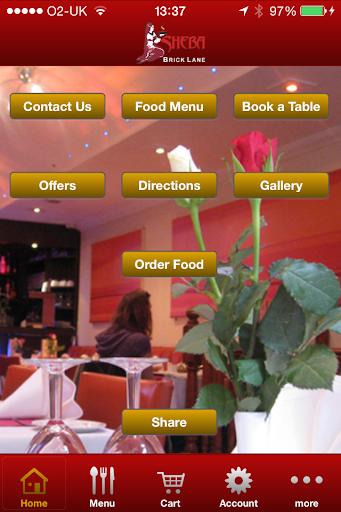 Sheba Restaurant Brick Lane