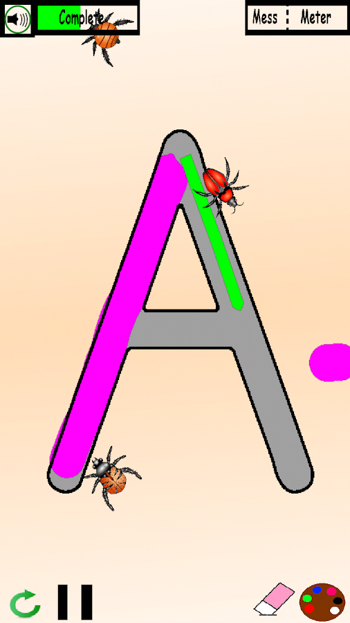 ABC: Parents Draw, Kids Trace- screenshot