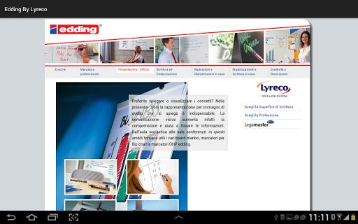 玩工具App|edding by Lyreco免費|APP試玩