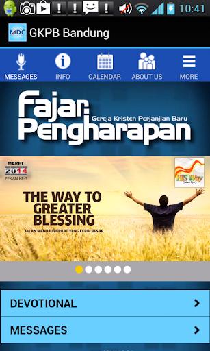 GKPB Fajar Pengharapan Bandung
