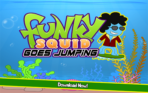 Funky Squid Goes Jumping- screenshot thumbnail
