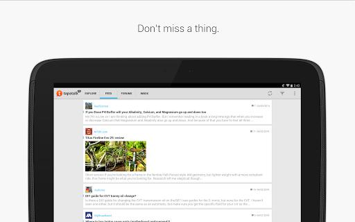 Tapatalk Pro - 100,000+ Forums  screenshots 9